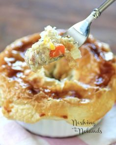Individual Puff Pastry Chicken Pot Pies