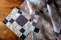 Another pretty quilt back from Sew shabby Quilting! | Flickr - Photo Sharing!