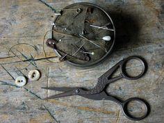 Antique Style Stork Scissors