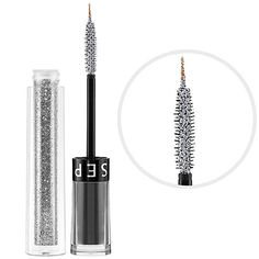 New Year's Beauty: SEPHORA COLLECTION Glitter Eyeliner and Mascara in Sassy Silver #NewYears #NYE #2013 #Sephora