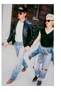 Style icons: Jeans - Sean Penn and Madonna