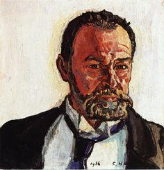 Ferdinand Hodler, Self Portrait, 1916