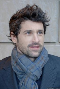 McDreamy in a man scarf