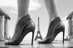 The Perfecto Sandal from the new Louis Vuitton Women's Shoe Collection captured in Paris by John Wright .
