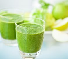 Pear and Cilantro Detox Smoothie from Young and Raw