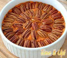 Maple Pecan Sweet Potatoes :)