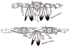 tattoo idea, nativ american, dream catchers, native americans, dreamcatch tattoo, tattoo design, american tattoo, feather tattoos, ink