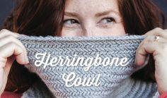 Knitting: 1 Hour Herringbone Cowl