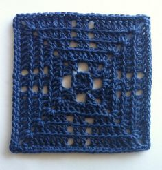 Beyond the Granny Part 5 - Back Loops Only - Free crochet square pattern by Shelley Husband