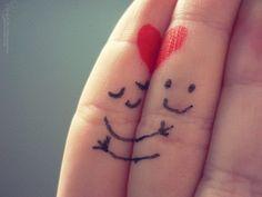 perfect love! heart, stuff, hug, funni, fingers, random, smile, quot, thing