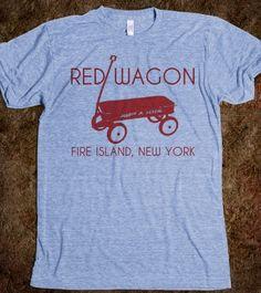 Red Wagon Fire Island tee.