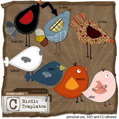 Birdie Templates