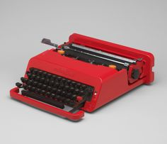 Valentine Portable Typewriter, Designed by Ettore Sottsass & Perry King, 1969