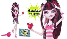 Muñeca Draculaura vestido de playa