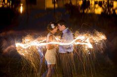 Sparklers make the wedding night so much more romantic>> http://my.gactv.com/great-american-weddings/multigallery.esi?soc=pinterest