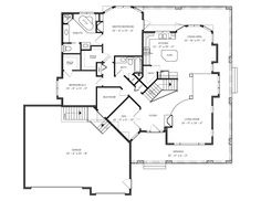 Floor plans on pinterest bungalow house plans home Spectrum house plans