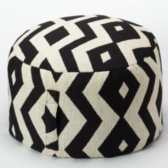 This tribal pouf is the perfect way to give your dorm decor a fresh look. #Kohls101