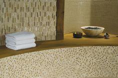 Fusion Glass and Stone Tile Mosiacs shimmeri mosaic, tile collect, tile mosiac, fusion glass, stone tile, wall tile, mosaic goldcream, avalon tile