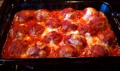 Smoked Mozzerella stuffed meatballs...Yummy!