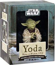 Star Wars Yoda Figure.  This in place of any Buddha statue.