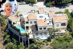 Lady Gaga's sprawling mansion in Bel Air