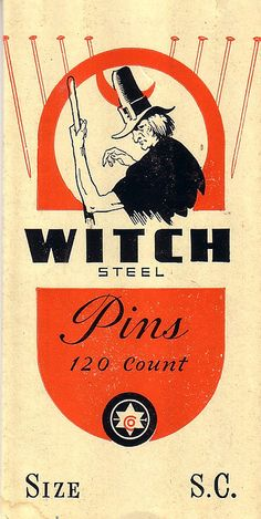 Witch Pins
