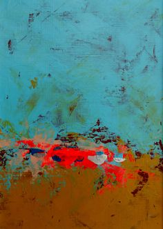 Abstract Landscape by Moodscape Paintings