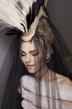 Andrej Pejic - Jean Paul Gaultier S/S 2011 Couture. He is a goddess actually.