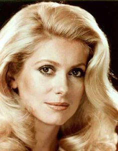 Catherine Deneuve....seems so classy and French.