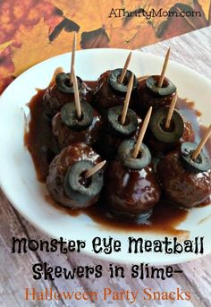 monster eye skewers,