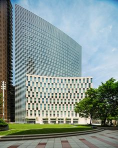 New Fordham Law School / Pei Cobb Freed
