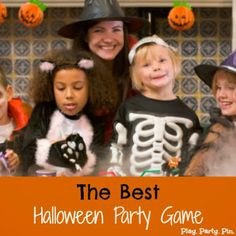 The Best Halloween Party Game: Halloween Relay Race