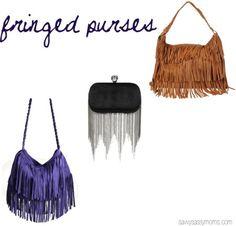 fringed purses