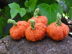 Pumpkin knitting pattern, Free