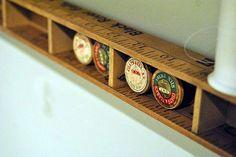 yardstick shelf