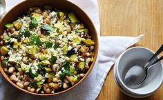 On the Menu: Zucchini, Corn & Cotija Salad - Clementine Daily