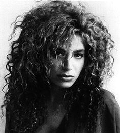 will always stand by big curly hair...when is this making a comeback?