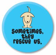 rescued button .95