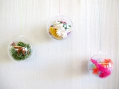 Cute DIY ornaments