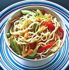 Healthy Coconut Oil Vegetable Noodles-2167