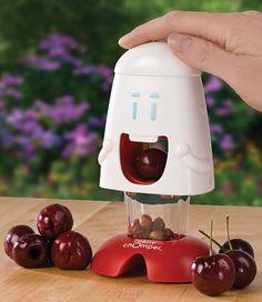 Cute Cherry Pitting Gadget.