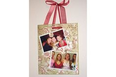 Magnetic Photo Boards :: idea for M's room