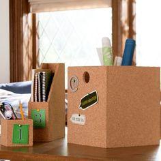 Cork Desk Accessories | PBteen