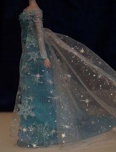 OOAK Elsa Snow Queen gown - Disney Frozen | Flickr - Photo Sharing!
