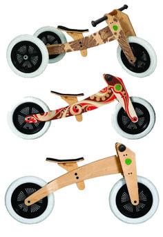 Wishbone Design Balance Bikes - our fave.