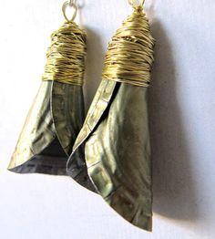 bottlecap earrings!