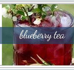 Whole Plant Wild Maine Blueberry Tea: Organic Blueberry Tea