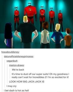 The incredibles are back