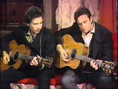 Bob Dylan & Johnny Cash - Girl From The North Country