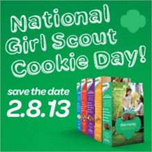 girl scout cookies, birthday, nation girl, gs cooki, art